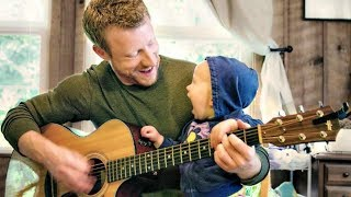 Baby Reacts to Father Playing Guitar #1 - Cute Funny Video