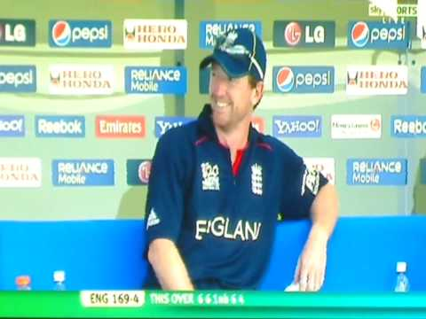 Eoin Morgan Reverse back flick