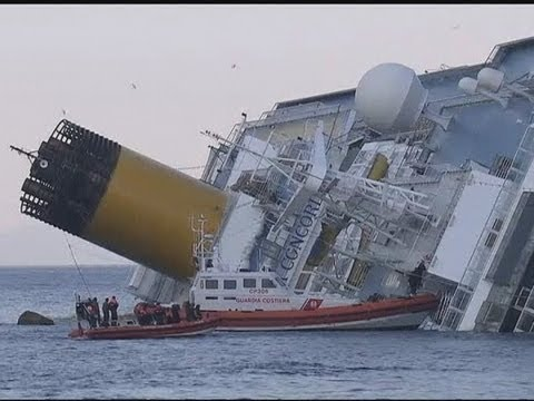 Costa Concordia: Dramatic pictures of stricken ship as search for survivors continues in Italy