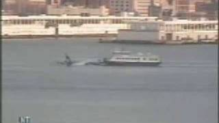 * * ( new )  US AIRWAYS recorded!!!  LANDING HUDSON RIVER
