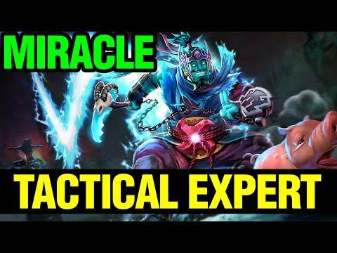 TACTICAL EXPERT - MIRACLE- STORM SPIRIT - Dota 2