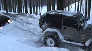 Jeep RUBICON a Lada NIVA