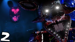HIDING FROM THE IGNITED ANIMATRONICS!    The Joy of Creation: Story Mode (Five Nights at Freddys)