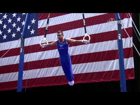 Jonathan Horton takes 4th at Visa Championship - night 2 routines