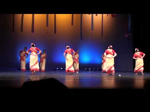 Pratidhwani, Colors Of India,  Bangla Folk Dance, aaj Jibon Khuje Pabi video