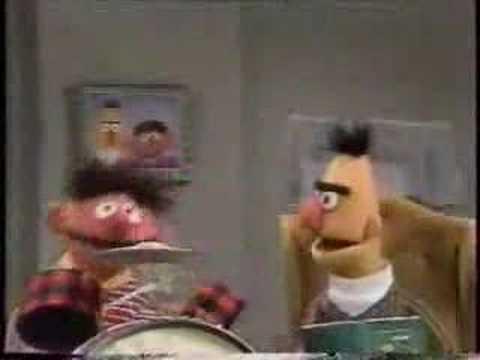 Sesame Street Ernie Amp Bert Drum Game Youtube