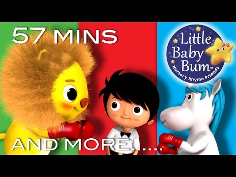 The Lion and the Unicorn | And More Nursery Rhymes | From LittleBabyBum