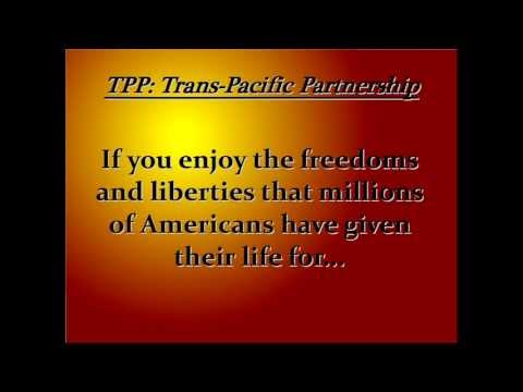 TPP Globalist Agenda Exposed     ☭ Trans Pacific Partnership Is The End of National Sovereignty ☭