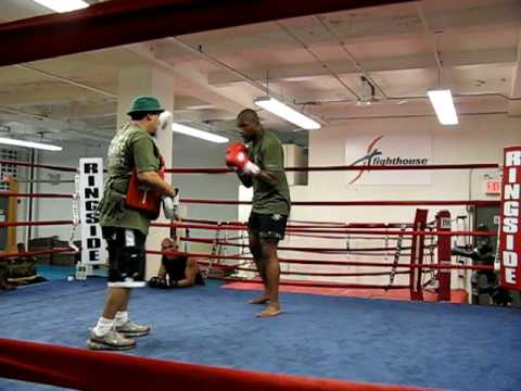 Quinton Rampage Jackson training at Fighthouse 5 Image 1