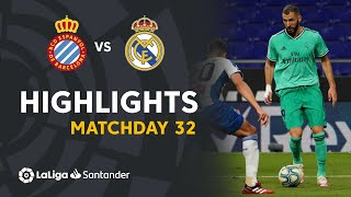 Highlights RCD Espanyol vs Real Madrid (0-1)
