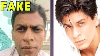 Pictures of Shahrukh Khan 's Duplicate go VIRAL