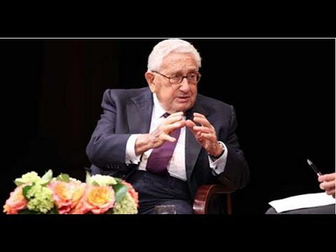 Henry Kissinger on Cooperation and Power in U.S.-Asia Relations