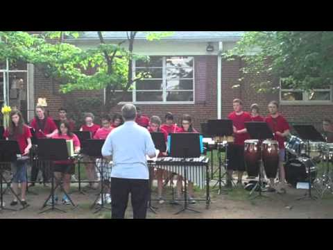 Roselle Park High School Percussion Ensemble- RP Summerfest, 5/29/13- Chameleon