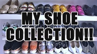 MY EPIC SHOE COLLECTION!!  TOPSHOP, GUCCI, ZARA, H&M
