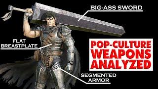 Pop-Culture Weapons Analysed: Guts from Berserk