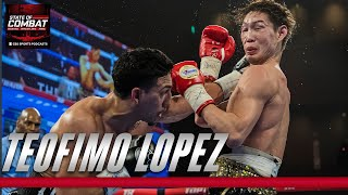 Teofimo Lopez Jr. talks family drama, Lomachenko and pressure of first title shot | State of Combat