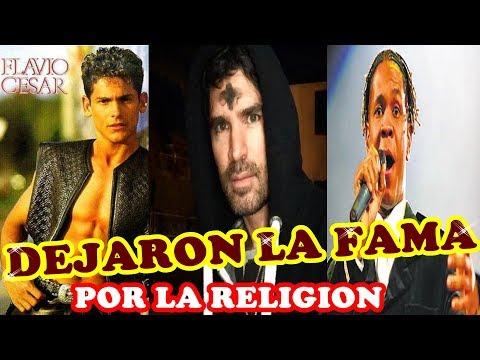 FAMOSOS QUE DEJARON LA FAMA POR LA RELIGIÓN