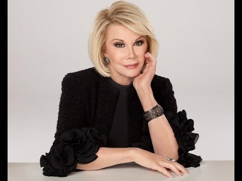 A Tribute To Joan Rivers - How She'd Want To Be Remembered!