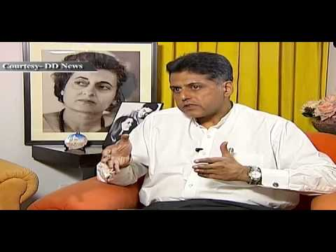 An Interaction with Minister for Information & Broadcasting, Shri Manish Tewari,