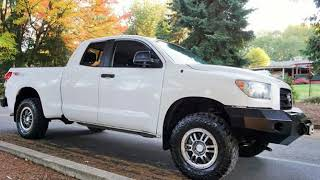 2009 Toyota Tundra SR5 4X4 Rock Warrior Lifted Winch Bumper New Tires for sale in Milwaukie, OR