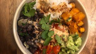 Easy vegan burrito bowl recipe