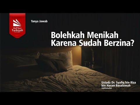 Soal Jawab | Menikah Karena Sudah Berzina, Bolehkah..?? - Ustadz Syafiq Riza Basalamah, MA.