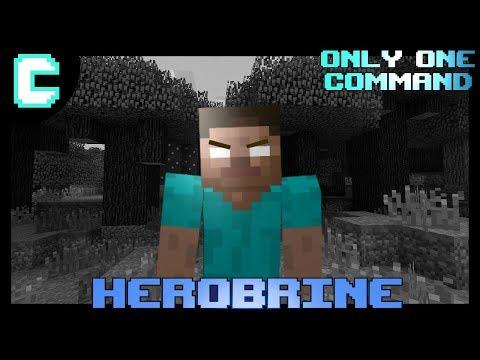 Herobrine Curse Command (Minecraft 1.12)