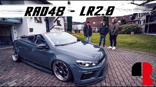 VW EOS R36 Sound Widebody Bagged Slammed | RAD48 |