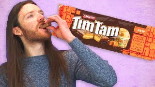 Irish People Taste Test Australian Tim Tams