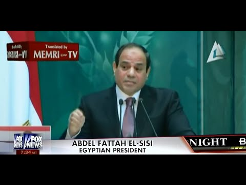• While Obama Appeases Islamic Terrorists, Egyptian President Condemns Them! • Kelly File • 1/9/15 •