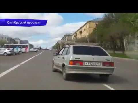 Видеорегистратор. Сбили женщину на ул. Карла Маркса. Место происшествия 05.06.2017