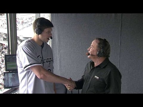 SEA@CWS: Bulls' McDermott chats with White Sox booth
