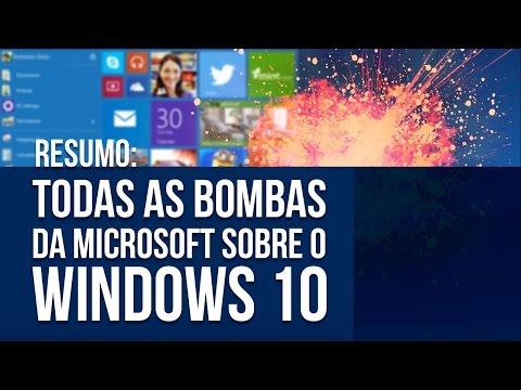 Resumo: todas as bombas da Microsoft sobre o Windows 10 (evento de Janeiro/2015) - Baixaki