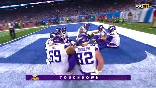 Every Minnesota Vikings Touchdown from the 2017-2018 Season