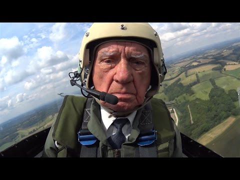 RAF Pilot Reunited With The Spitfire | Forces TV