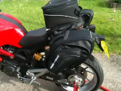 Ducati Performance Monster Tail Bag