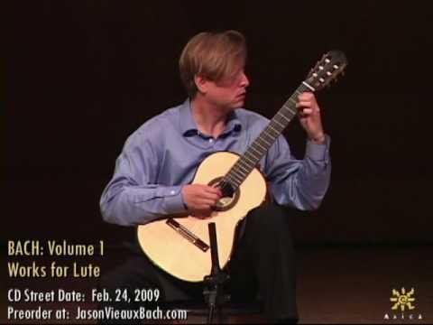 Jason Vieaux: Bach BWV 998, Prelude