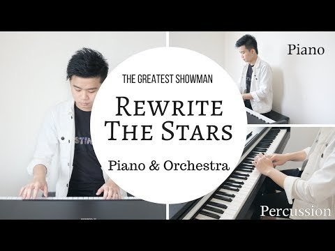 Rewrite The Stars (Piano & Orchestra Cover) - The Greatest Showman - Riyandi Kusuma