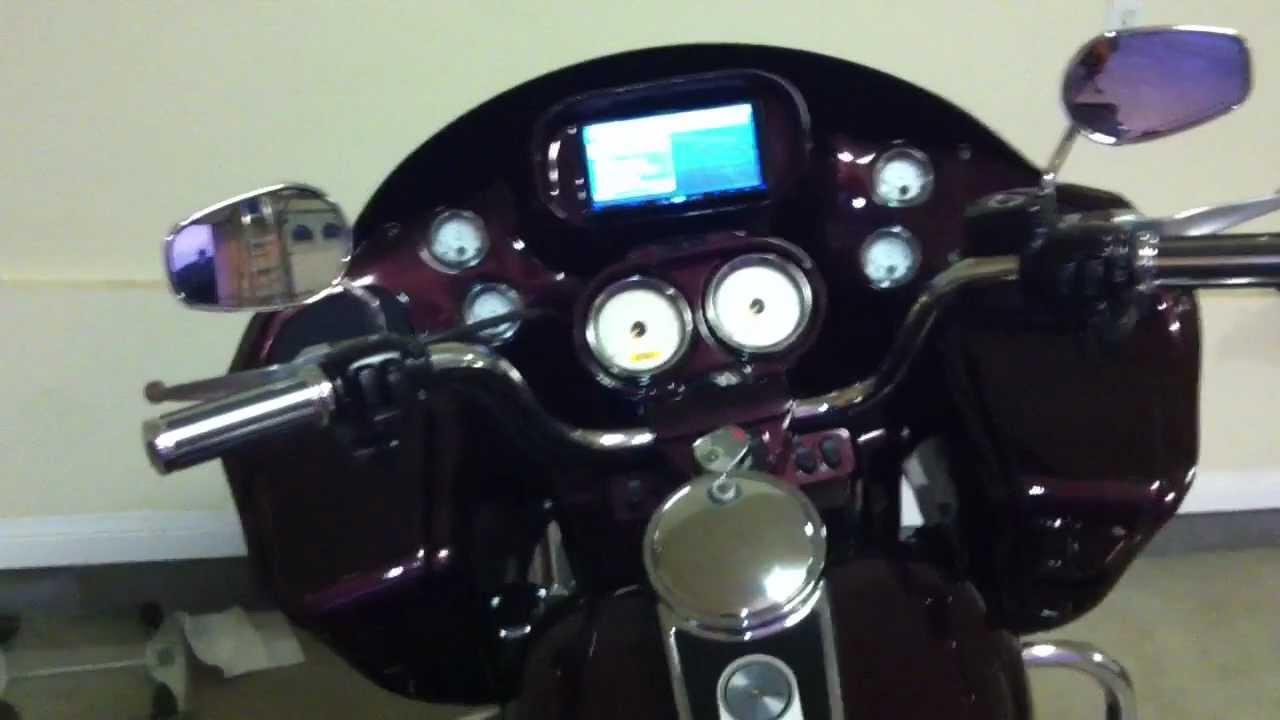 Radio Mounting Kit For Harley Davidson