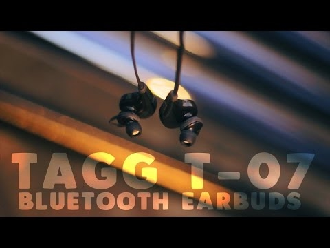 Best budget bluetooth Earphones? TAGG T-07 Review!