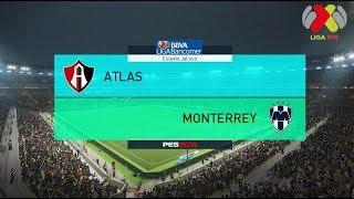 PES 2018 | Atlas vs Monterrey | Jornada 9 Liga Mx | Gameplay PC