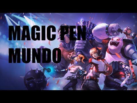 League of Legends - Magic Pen Mundo - Full Game Commentary