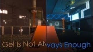 portal 2 / Gel Is Not Always Enough by  Hugobdesigner