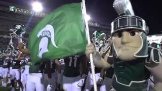 No.12 Michigan State Wins Season Opener Over Furman, 28-13