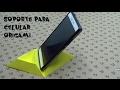 Soporte para celular origami / Origami cell phone support
