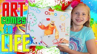 Watch Art Come to Life!  Alyssa plays with Osmo!