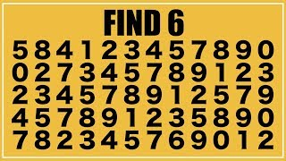 How Good Are Your Eyes? 92% fail  Solve this in 15s Find the odd one out