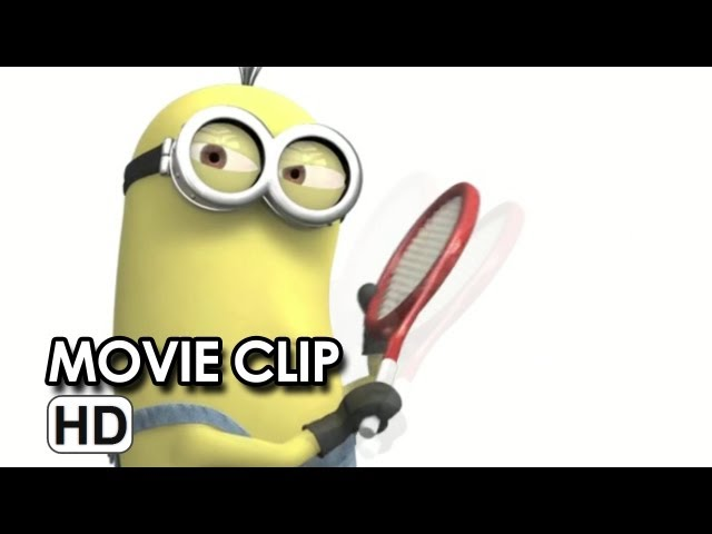 Despicable Me 2 - Table Tennis Promo Clip (2013)