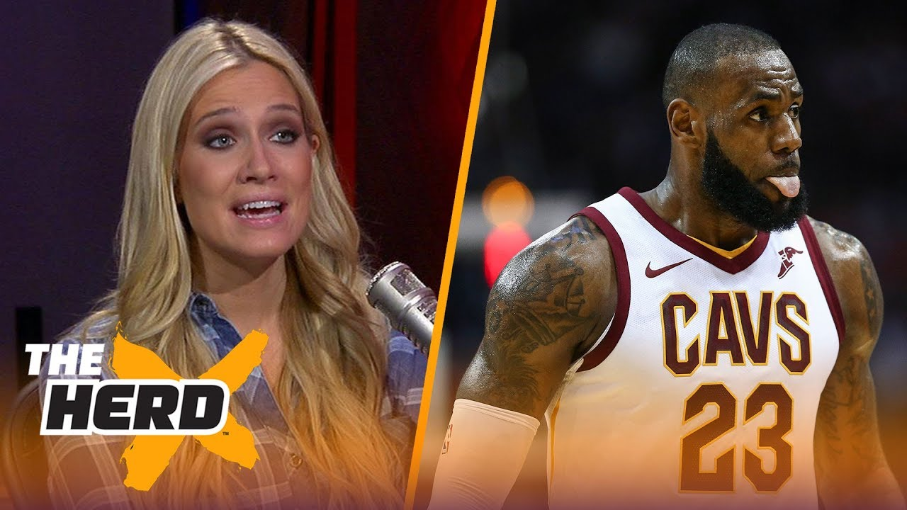 Cavs are 11th in the east, Lonzo shooting 29% from the field - Kristine and Colin React | THE HERD