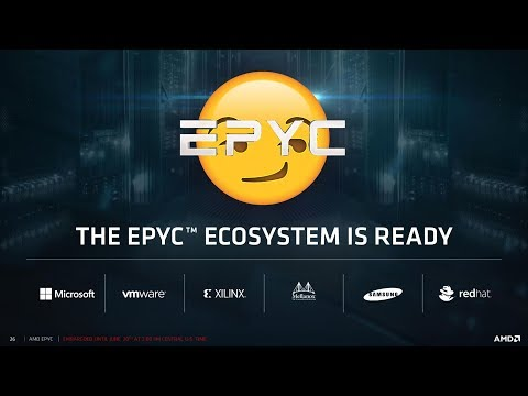 AMD's EPYC Response To Intel's 'Glued Together' Comment